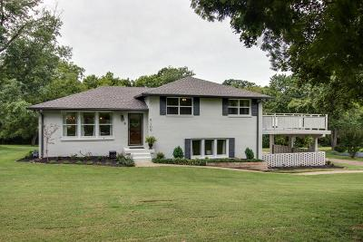 Davidson County Single Family Home Under Contract - Showing: 5109 Amalie Drive