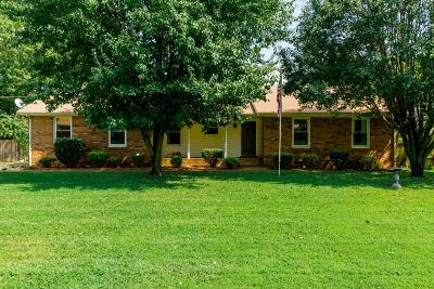 Hendersonville Single Family Home Under Contract - Showing: 113 Dana Dr