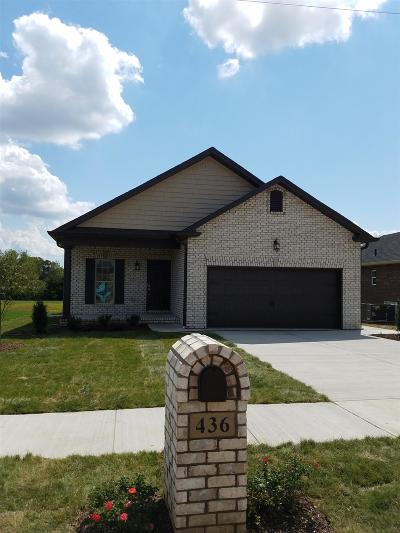 Sumner County Single Family Home For Sale: 436 Lucy Cir