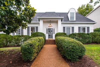 Nashville TN Single Family Home For Sale: $975,000