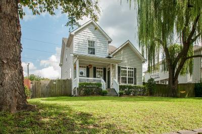 Davidson County Single Family Home For Sale: 322 33rd Ave N