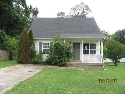 Clarksville Single Family Home Under Contract - Showing: 315 Lafayette Point Cir