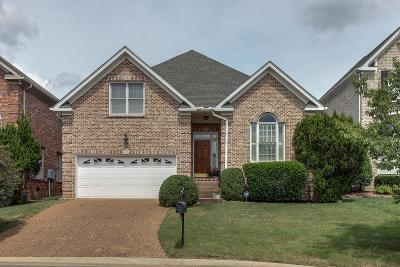 Davidson County Single Family Home For Sale: 909 Cherry Plum Court