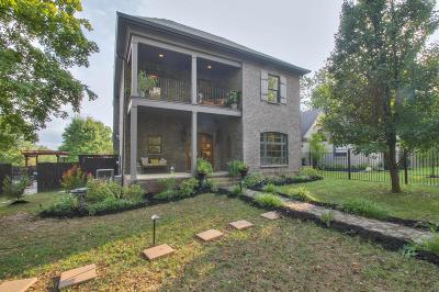 Nashville Single Family Home For Sale: 2118 Eastland Ave