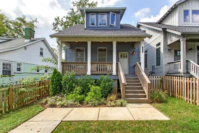 Nashville Single Family Home For Sale: 406 A Rudolph Ave