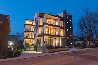 Nashville Condo/Townhouse For Sale: 204 Acklen Park Drive #103 #103