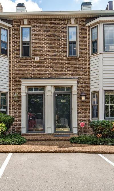 Condo/Townhouse For Sale: 106 Fairmont Pl #106