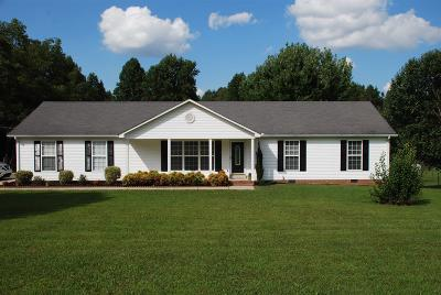 Shelbyville Single Family Home For Sale: 2234 Sims Rd