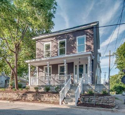 Nashville Single Family Home For Sale: 1900 4th Ave N