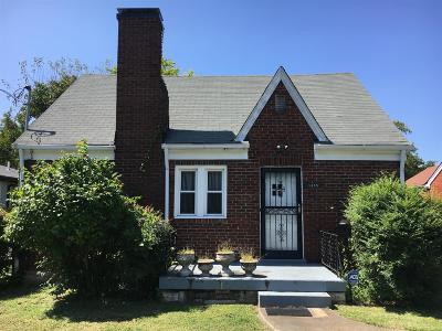 Davidson County Single Family Home Under Contract - Showing: 1415 15th Ave S