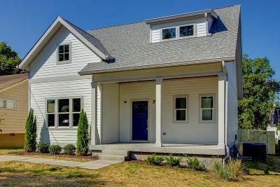 Nashville Single Family Home For Sale: 1727 22nd Ave N