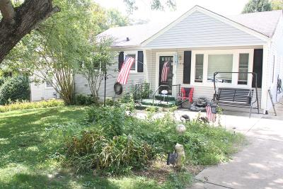 Columbia  Single Family Home Under Contract - Showing: 1918 Overton Dr