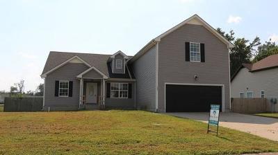 Christian County, Ky, Todd County, Ky, Montgomery County Single Family Home For Sale: 1404 Scrub Oak Dr