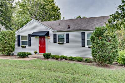 Nashville Single Family Home For Sale: 276 38th Ave N