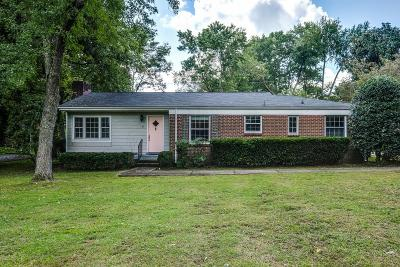 Nashville Single Family Home Under Contract - Showing: 145 Alton Rd