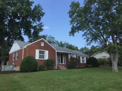 Nashville Single Family Home For Sale: 2312 Maplecrest Dr
