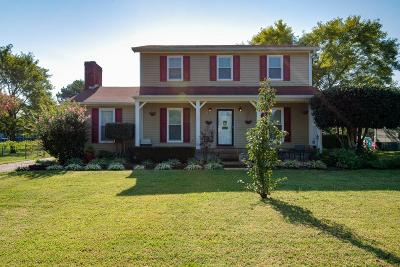Mount Juliet Single Family Home For Sale: 622 Meadowview Dr