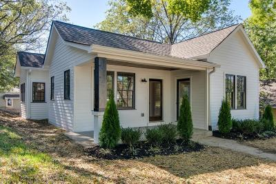 Nashville Single Family Home For Sale: 1506 Shelby Ave