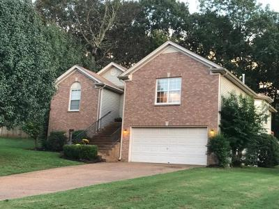Mount Juliet Single Family Home For Sale: 914 Celeste Ct