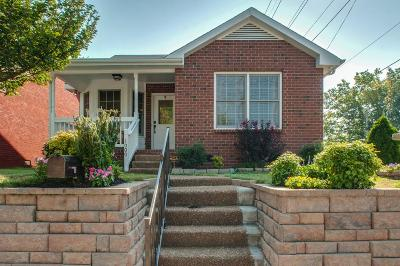 Davidson County Single Family Home For Sale: 1000 11th Ave N
