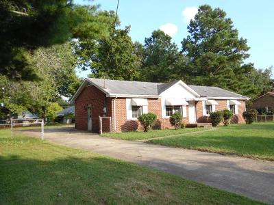 Christian County, Ky, Todd County, Ky, Montgomery County Single Family Home For Sale: 415 Alabama Ave