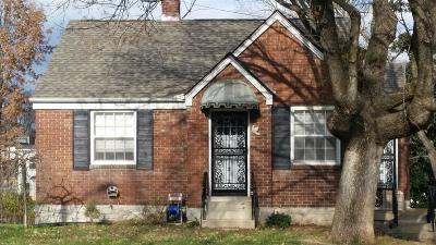 Nashville Single Family Home For Sale: 807 Fairwin Ave