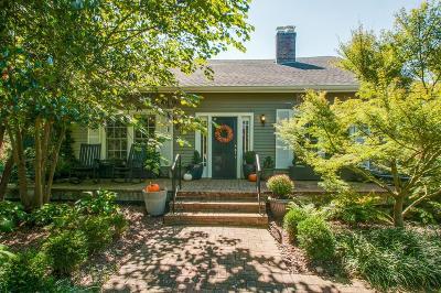 Nashville Single Family Home For Sale: 2401 Abbott Martin Rd