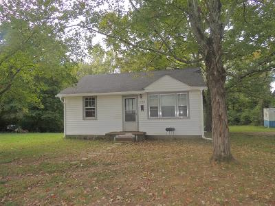 Clarksville Single Family Home For Sale: 235 Caldwell Ln