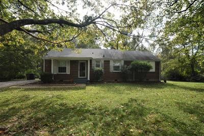 Nashville Single Family Home For Sale: 5026 Packard Dr