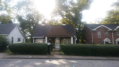 Nashville Single Family Home For Sale: 707 27th Ave N