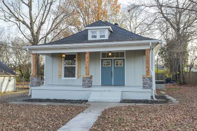 Nashville Single Family Home For Sale: 1114 McGavock Pike