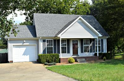 Christian County, Ky, Todd County, Ky, Montgomery County Single Family Home For Sale: 3259 Tabby Dr