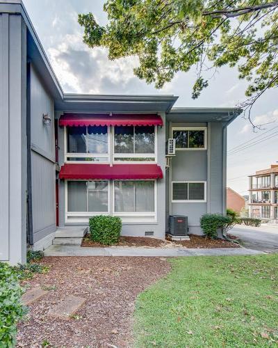 Nashville Condo/Townhouse For Sale: 201 Acklen Park Dr Apt 8 #8