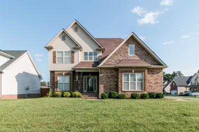 Christian County, Ky, Todd County, Ky, Montgomery County Single Family Home For Sale: 3384 Melissa Ln