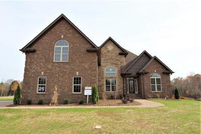 Wilson County Single Family Home For Sale: 120 Brixton Ridge #25