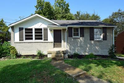 Davidson County Single Family Home For Sale: 1409 Bain Drive