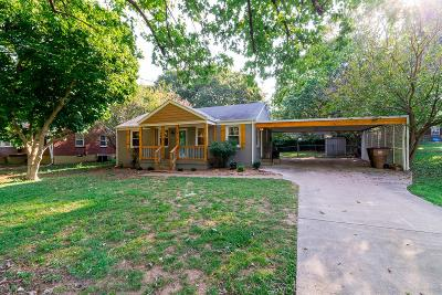 Davidson County Single Family Home For Sale: 3708 Yelton Dr