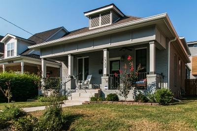 Nashville Single Family Home For Sale: 1733 4th Ave N