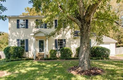 Mount Juliet TN Single Family Home For Sale: $196,500