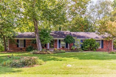 Williamson County Single Family Home For Sale: 102 Newcastle Dr