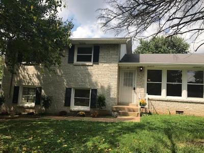 Nashville Single Family Home For Sale: 411 McDonald Dr