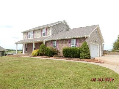 Christian County, Ky, Todd County, Ky, Montgomery County Single Family Home For Sale: 261 Seven Mile Ferry Rd