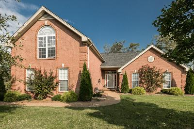 Gallatin Single Family Home For Sale: 1046 Notting Hill Dr