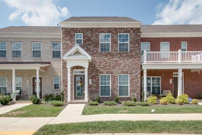 Nolensville Condo/Townhouse For Sale: 741 Westcott Ln