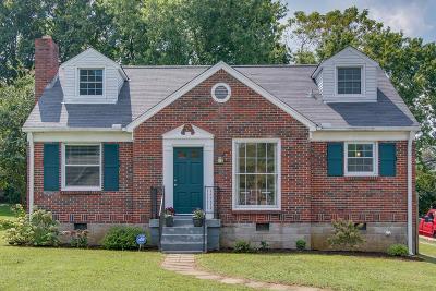 Nashville Single Family Home For Sale: 1018 Burchwood Ave