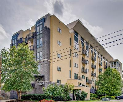 Nashville Condo/Townhouse For Sale: 1101 18th Ave S Apt 609 #609