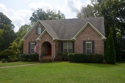 Nolensville Single Family Home Under Contract - Showing: 102 Kearney Ct