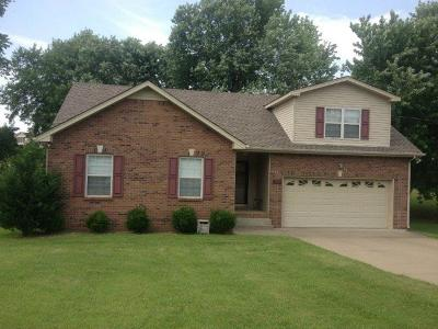 Christian County, Ky, Todd County, Ky, Montgomery County Rental For Rent: 284 Harold Drive