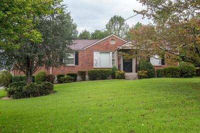 Nashville Single Family Home For Sale: 2417 McGinnis Drive