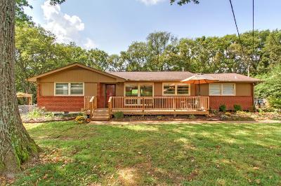 Nashville Single Family Home For Sale: 5017 Manuel